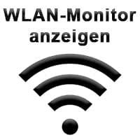 WLAN Monitor am iPhone aktivieren