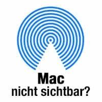 Mac wird nicht angezeigt in AirDrop – Das könnt ihr tun!
