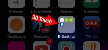 Ordner schneller umbenennen mit 3D Touch