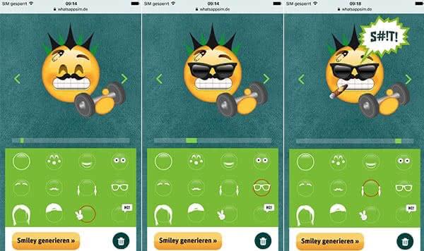 Benutzte löschen häufig emojis Emojis in