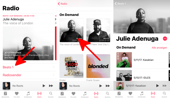 Beats 1 Shows on Demand Apple Music