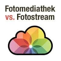 "iCloud-Fotomediathek vs. ""Mein Fotostream"" – Wahl des richtigen Dienstes"