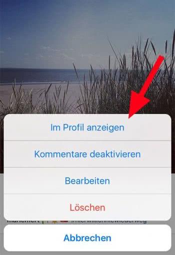 So funktioniert das Archiv bei Instagram