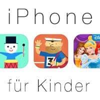Altes iPhone für Kinder zum Spielen einrichten