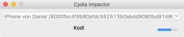 Kodi am iPhone installieren