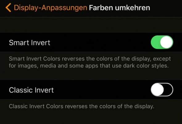 Dark Mode auf dem iPhone nutzen