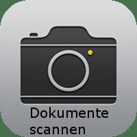 Dokumente scannen Kamera App Icon
