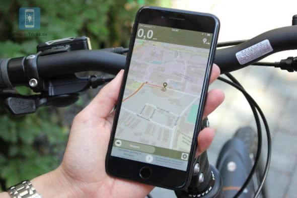 Naviki Fahrrad Navigation