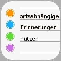 ortsabhöngigeErinnerungen App Icon