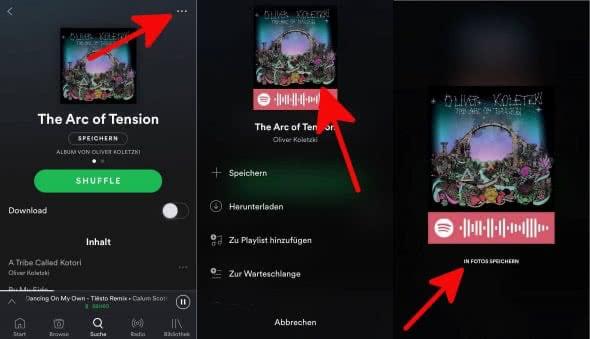 Spotify Lieder teilen