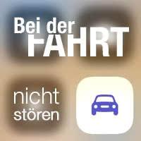 """""""Beim Fahren nicht stören"""" – Mitteilungen bei der Autofahrt einschränken"""