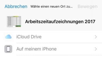 Datei bewegen