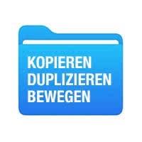 Dateien kopieren, duplizieren & bewegen in Dateien-App