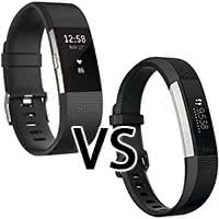Fitness Tracker von Fitbit - Fitbit Charge 2 vs. Fitbit Alta HR