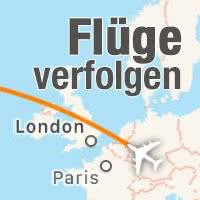 Flug verfolgen mit Safari & Flugnummer