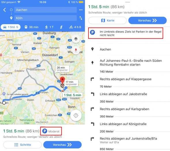 freie-parkplaetze-mit-google-maps-finden