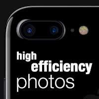 Fotos im High-Efficiency-Format machen & Speicherplatz sparen