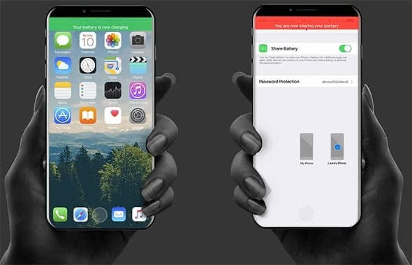 iPhone X-Nachfolger mit Battery Share-Funktion