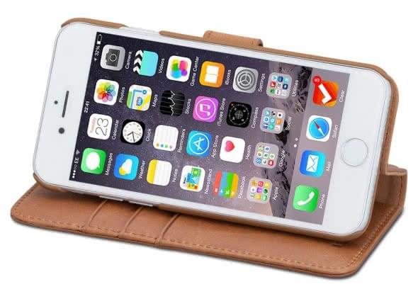 Die besten iPhone 8 (Plus) Lederhüllen im Vergleich