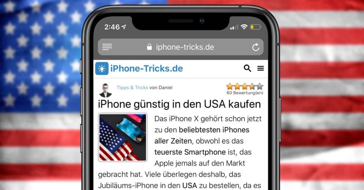 Iphone 8 X 7 6s Oder Se In Den Usa Kaufen Bestellen Preis