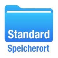 Standard-Speicherort für einzelne Apps ändern