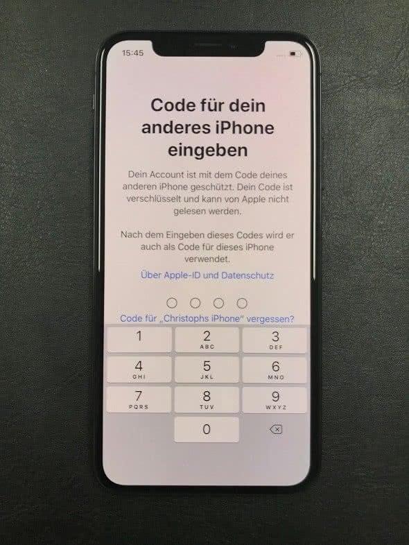 NEUES IPHONE EINRICHTEN MIT PC