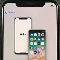 Sim Karte Einlegen Iphone X.Neues Iphone Einrichten Mit Iphone Schnellstart Funktion