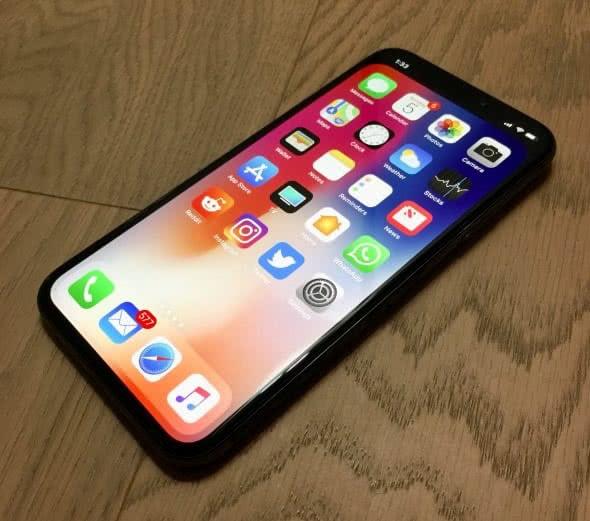 iPhone X ohne Kerbe