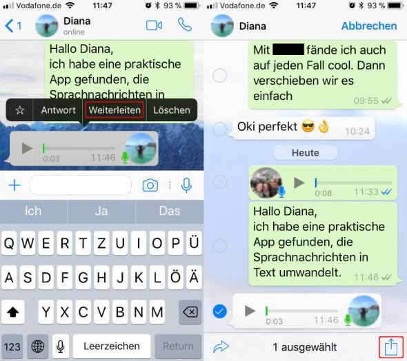 Audio-to-Text-for-WhatsApp-Weiterleiten-und-Teilen
