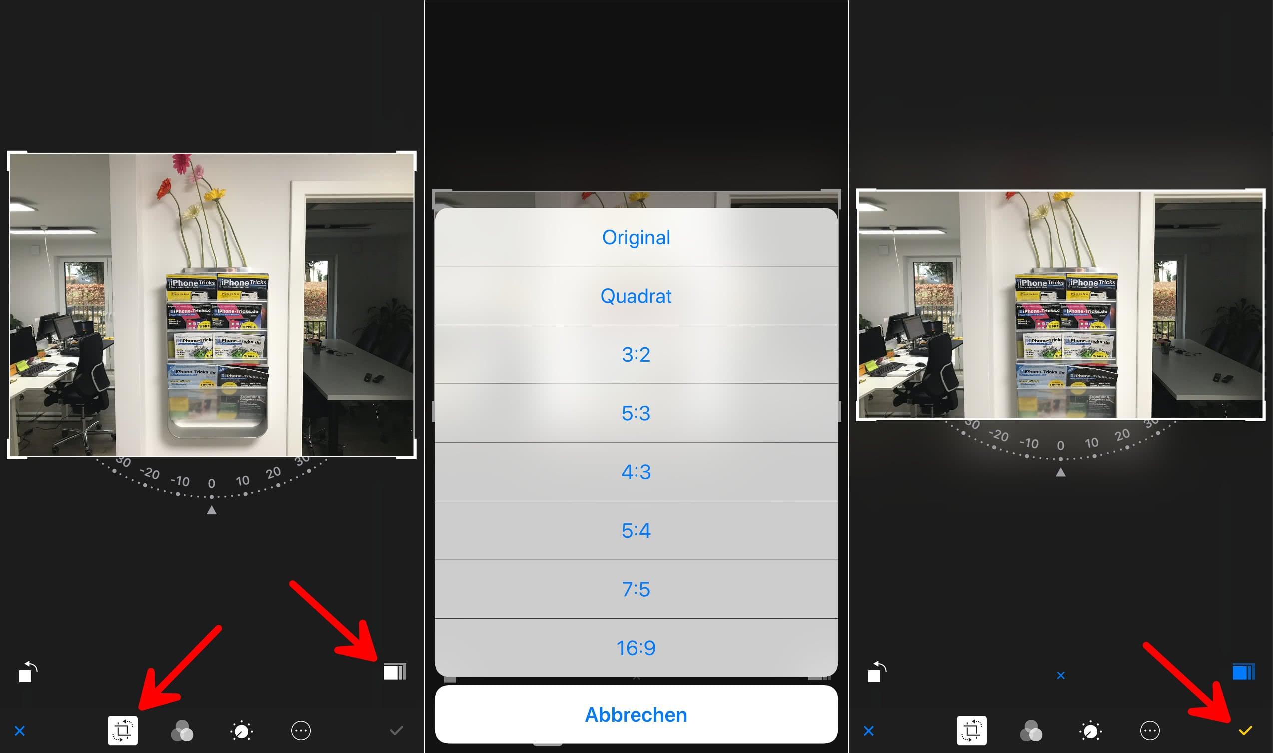 App Bilder ändern