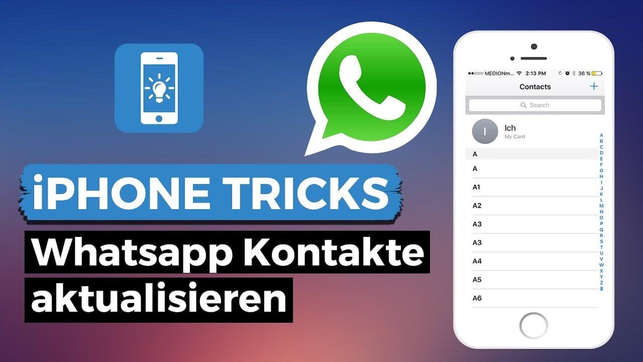 Neuer Whatsapp Kontakt