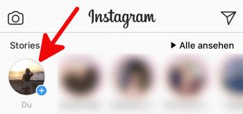 Instagram Schreibmodus 1