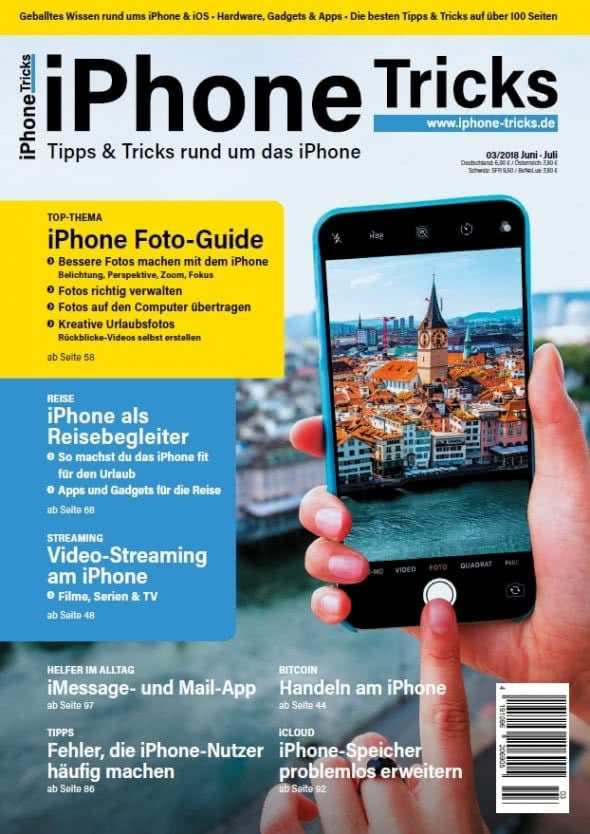 iPhone-Tricks.de Magazin 3/2018