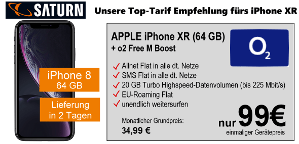 iPhone XR Tarifempfehlung