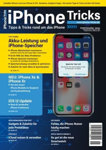 iPhone-Tricks.de Magazin 1/2019