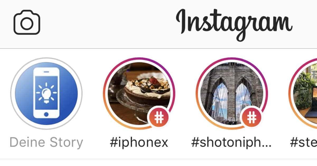 instagram story teilen