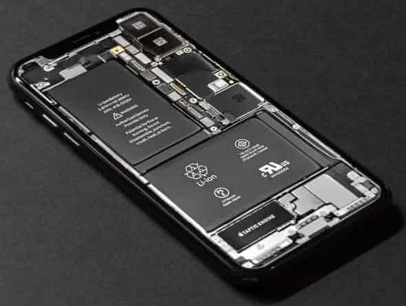 iPhone X Innenleben