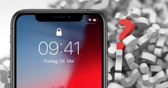 09:41 Uhr auf iPhone