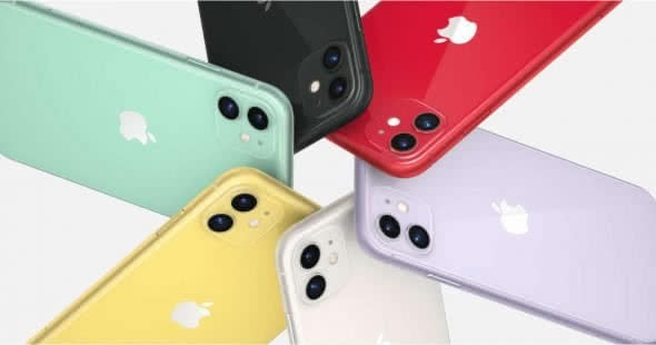 iPhone 11 Farbauswahl