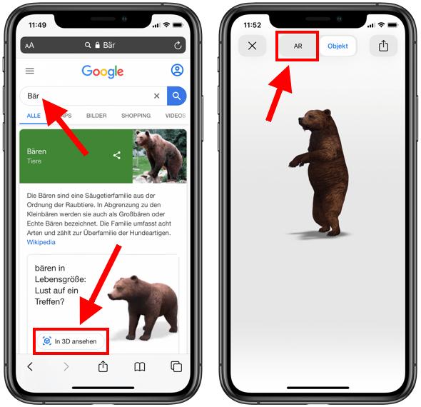 Tiere In 3d Google
