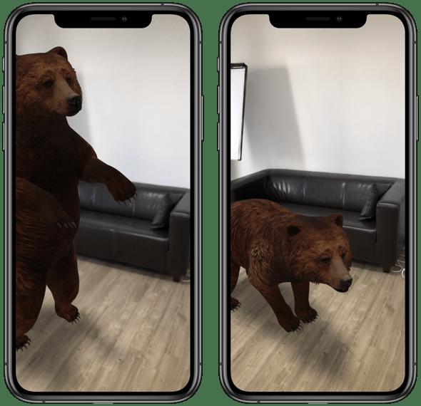 Google 3D Tiere