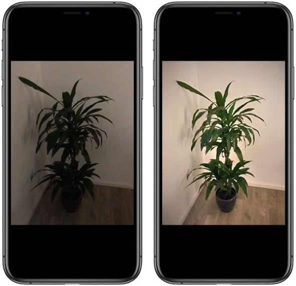 iPhone Kamera-App vs. NeuralCam-App