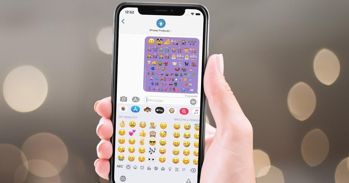 Iphone Neue Smileys