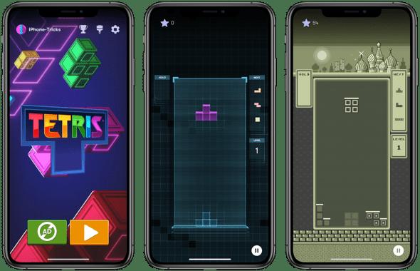 Tetris App fürs iPhone