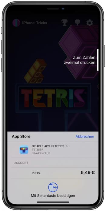 Tetris In App Kauf