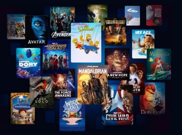 Disney Plus Serien und Filme