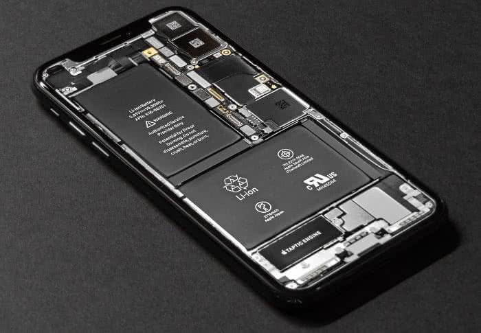 iPhone Innenansicht