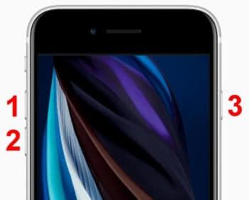 Hard Reset durchführen am iPhone SE 2