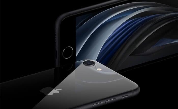 iPhone SE Front- und Rückseite
