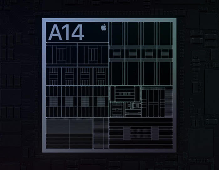 A14 Chip Grafik